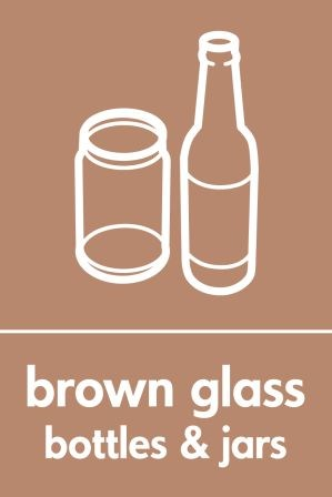 Brown Glass Recycling