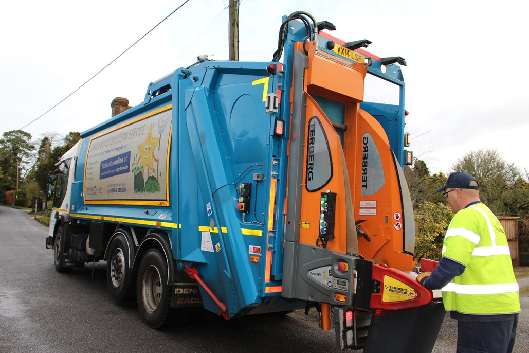 Garden Waste Vehicle