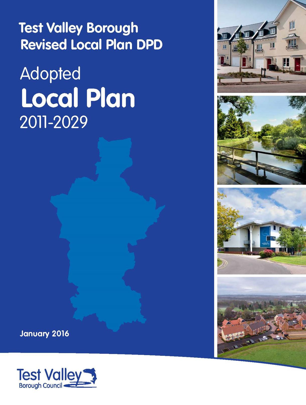 Adopted Local Plan Front Cover
