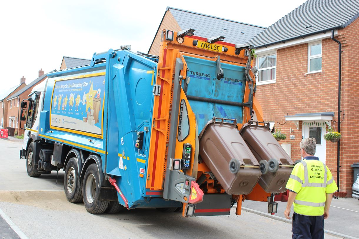 Brown Recycling Bin Collections