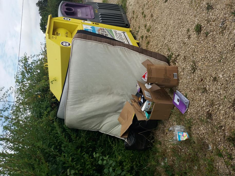 Clanville Fly-tip