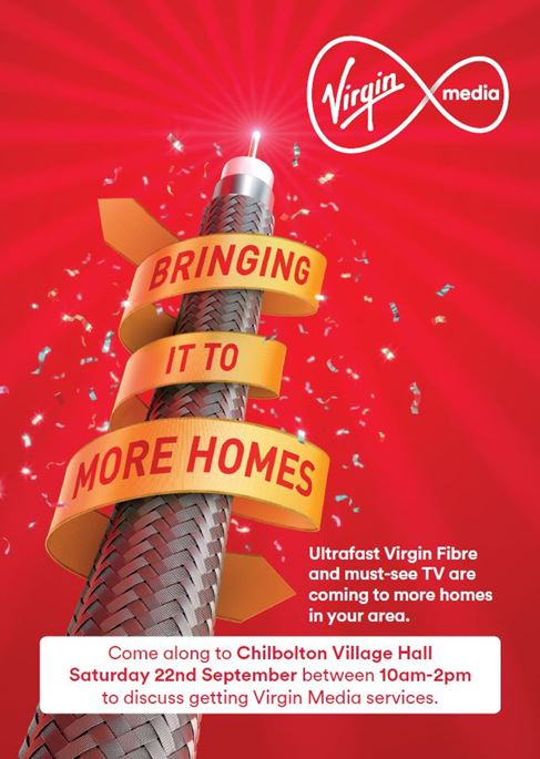 Virgin Media- Test Valley Virtual Town Project - Chilbolton